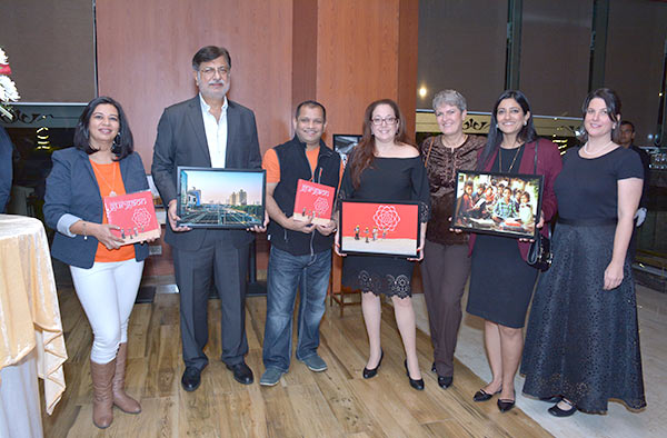 The Launch of Glimpses of Gurgaon, India